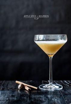 Apple Spice and Bourbon Flip