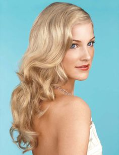 Vintage-Inspired, Wavy Hairstyle. Waves