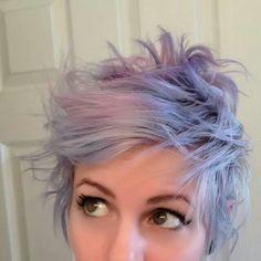 #purplehairdontcare  #purplepixie  #purplehair #purple #purplemakeup #pastelhair
