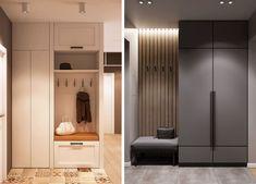 Foyer, Entryway, House Entrance, Mudroom, Home Interior Design, Locker Storage, Cabinet, Furniture, Home Decor