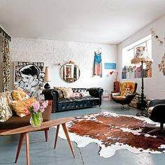 home of london stylist emily chalmers