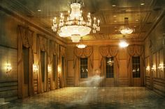 The Orleans Ballroom at the Bourbon Orleans Hotel is the oldest in New Orleans and is said to be haunted by a girl dancing. www.bourbonorleans.com