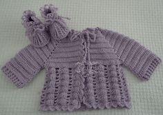 mp.croche: casaquinhos de bebê