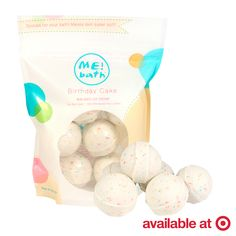 Birthday Cake Bath Bombs? Yes, please!   We've whipped up a new flavor - Birthday Cake! Find ME! Bath Birthday Cake Mini Bath Ice Creams at a Target store near you or shop online at www.icecreamcollectionatmebath.com