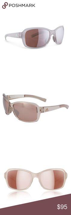 f2e7bbd42b Adidas Sports Sunglasses Baboa NWT Anti-Slip Nose Piece. Double-Snap Nose  Bridge