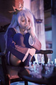Cosplay: Shiro of No Game No Life Coser: Chikami (芷紙) on WorldCosplay