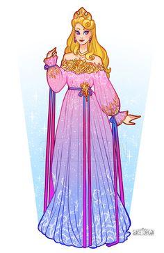 Sunset Dragon is creating Cosplay Designs Disney Princess Aurora, Disney Princess Fashion, Disney Princess Drawings, Disney Drawings, Disney And Dreamworks, Disney Pixar, Disney Characters, Disney Artwork, Disney Fan Art