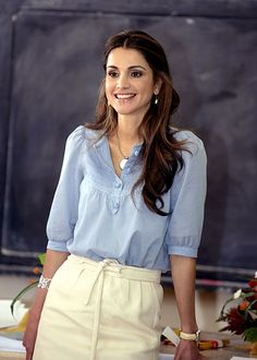 queen Rania of Jordan! Another one of my fashion icons.
