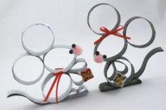 Petites souris  rouleau papier-toilette