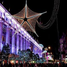 #OxfordStreet #London is a must see for #christmas  lovers during the #festive period.