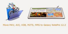 As Galaxy NotePro 12.2 video format limit is the big obstacle for you when watching movies, it is necessary to converting the large range of video formats...