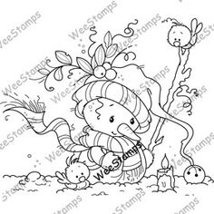 Christmas Doodles, Christmas Coloring Pages, Whimsy Stamps, Digi Stamps, Christmas Colors, Christmas Art, Colouring Pages, Coloring Books, Embroidery