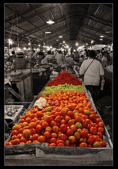 Indonesia Traditional Market