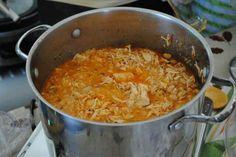 Easy white chicken  chilli