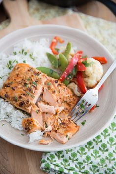 Ginger Garlic Grilled Salmon | The Healthy Foodie