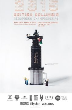 The British Columbia AeroPress Championship Trophy Is Made Entirely Of LEGO http://sprudge.com/the-british-columbia-aeropress-competition-trophy-is-made-entirely-of-lego.html …
