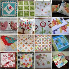 1. jan09 swap 1, 2. Green Quilt, 3. All done!, 4. Aren't they lovely together?, 5. doll quilt swap 6 {s}, 6. Pillow for....., 7. 1 - It´s here!, 8. Placemat Swaps for Smeelgool, 9. The Red & Aqua Bird, 10. Arcadia Cathedral Windows, 11. Scrapbuster Quilt, 12. bee inspired | October, 13. Early November Mini Quilt, 14. salt marsh hex, 15. SC3 for Craftywaffles, 16. baby girl quilt  Created with fd's Flickr Toys