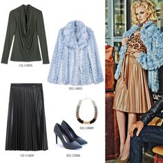 Classic for blondes! Mix Match, Blondes, Faux Fur, Fur Coat, Ootd, Classic, Collection, Fashion, Derby