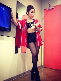 _minzy_mz | #BlackjackNolza Tokyo fanmeeting! #POW Kpop Girl Groups, Korean Girl Groups, Kpop Girls, 2ne1 Minzy, Sandara Park, Fashion Forever, Dope Outfits, Yg Entertainment, South Korean Girls