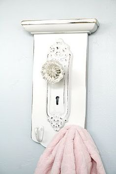 Not for my bathroom but I sure think it's a great idea (unless maybe I paint it a different color??).