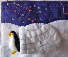 Welcome to Antarctica! This is the next quiet book page for Jax's book! As you can see, I've finally started sewing some actual book pages. It is a bit labor-intensive, so I only have 2…