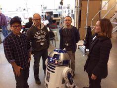 Twitter / bad_robot: Hi from the workshop! #StarWarsVII