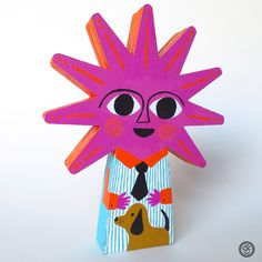 SUNday SUN No. 091 by Tad Carpenter