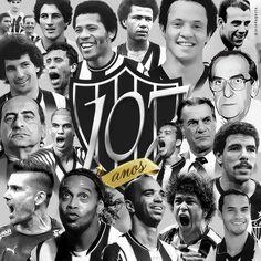 PARABÉNS AMOR DA MINHA VIDA, MEU AMADO CLUBE ATLÉTICO MINEIRO ❤️   #GALO107anos  25-03-2015