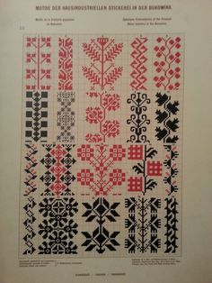 — Ukrainian and Romanian embroidery of...