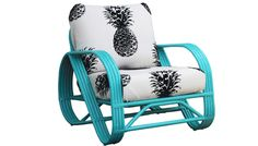 Lounge Chair - want want for my sunporch! EcoChic  ($1,295) via @PureWow