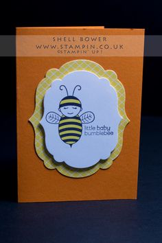 Stampin' Up! Baby Bumblebee