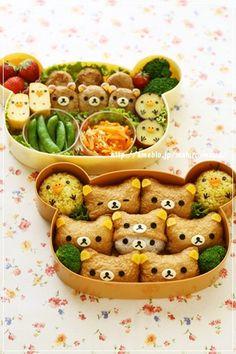 Charaben * Rilakkuma Inari Sushi