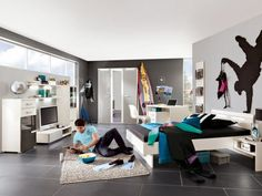 teenager bedroom boys bedroom furniture ideas wall decoration area rug floor…