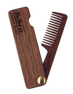 Double Deuce No.22 - Folding Comb - Big Red Beard Combs