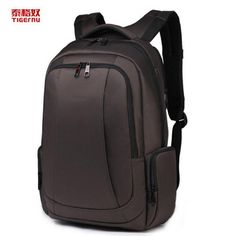 TIGERNU 17 inch Professional Business Laptop Backpack for Outdoor Travel