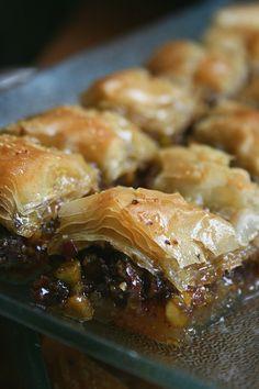 Baklawa à la pistache Passion culinaire Minouchka 4