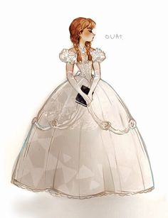 Anna ❤️ ouat>>I think she needs her hair up, but then she would look like Giselle haha