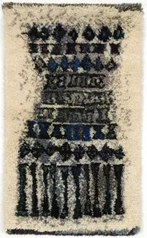 KUURA, Leena-Kaisa Halme,1959. Rya Rug, Floor Art, Textiles, Small Canvas, Penny Rugs, Textile Art, Contemporary Style, Weaving, Art Deco