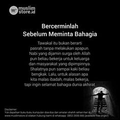 Nampol bgt nih quote New Reminder, Reminder Quotes, Best Quotes, Life Quotes, Quotes Lucu, Religion Quotes, Beautiful Islamic Quotes, Learn Islam, Islamic Messages