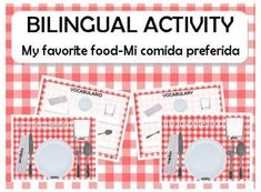 This is a free activity.I use it with my students to review food vocabulary and intruduce how to lay the table.Kids draw their favorite food an...