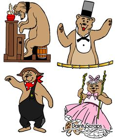 Country Bear Jamboree SVGs