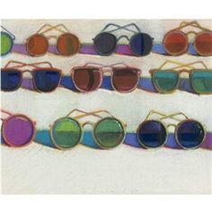 Wayne Thiebaud, Eyeglasses
