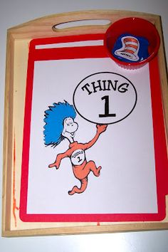 Montessori-inspired Dr. Seuss activities from www.theprincessan...