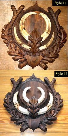 Elen Hunting & Importing Inc. Wood Crafts, Diy And Crafts, Arts And Crafts, Root Table, Antler Lights, Wood Bookends, Stag Antlers, Stone Sink, Wood Carving Patterns