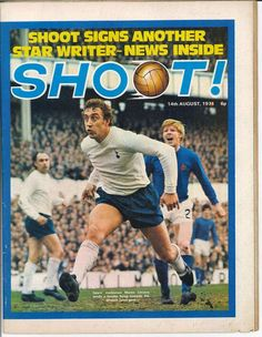Martin Chivers - Shoot front cover 1971.