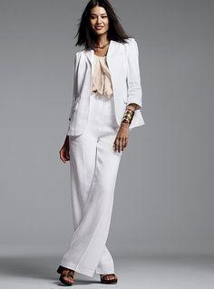 White suit I would rock it