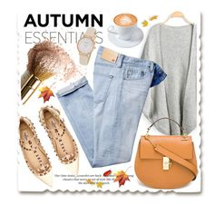 """Wish it was Autumn"" by stylemeup007 ❤ liked on Polyvore featuring AG Adriano Goldschmied, Chloé, H&M, Valentino, Kate Spade, autumn, summertofall and fall2015"