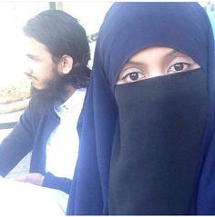 Muslim Family, Hidden Beauty, Niqab, Veil, Couples, Fashion, Moda, Fashion Styles, Veils