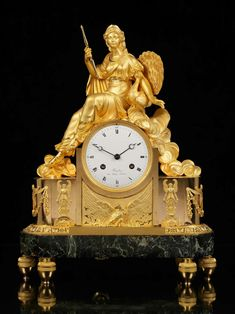 If you love the look of a mantle clock have a look at http://www.hemswell-antiques.com/antiques/clocks-and-scientific-instruments/