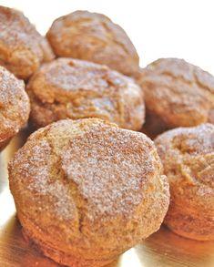 Low FODMAP Recipe and Gluten Free Recipe - Gluten-free cinnamon muffins http://www.ibssano.com/low_fodmap_gluten_free_cinnamon_muffins.html